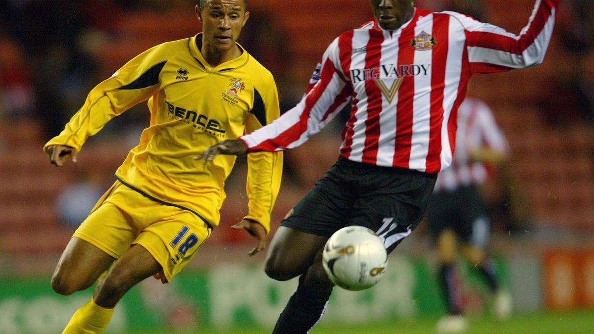 Soccer - Carling Cup - Second Round - Sunderland v Cheltenham Town - Stadium of Light