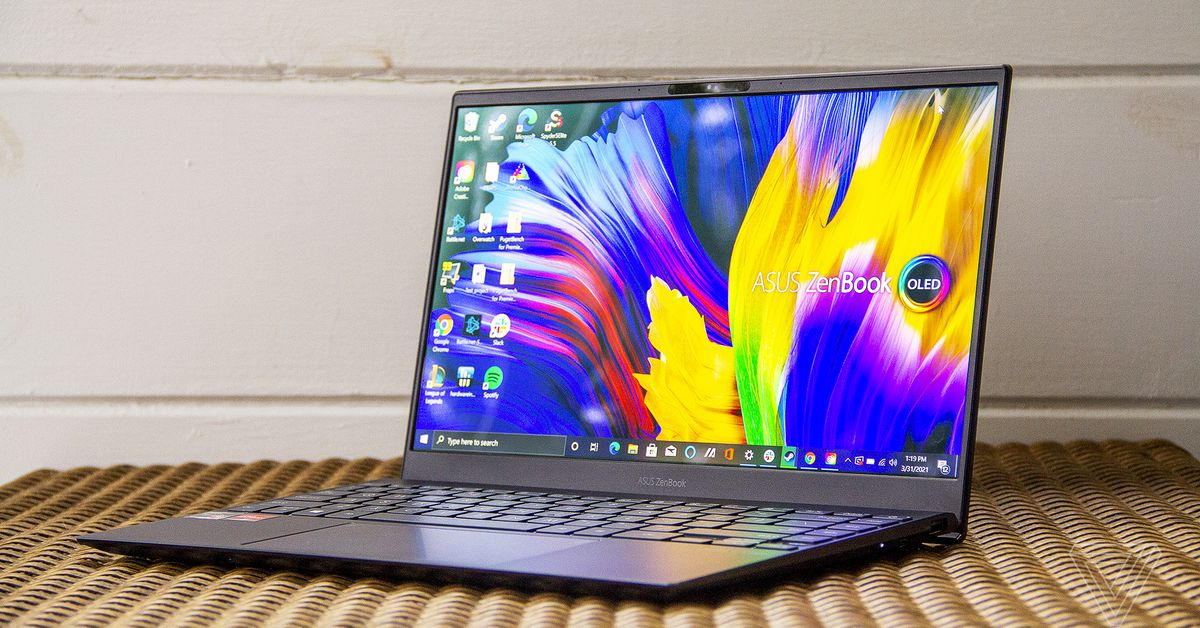 Asus ZenBook 13 OLED review: dazzling, to a point