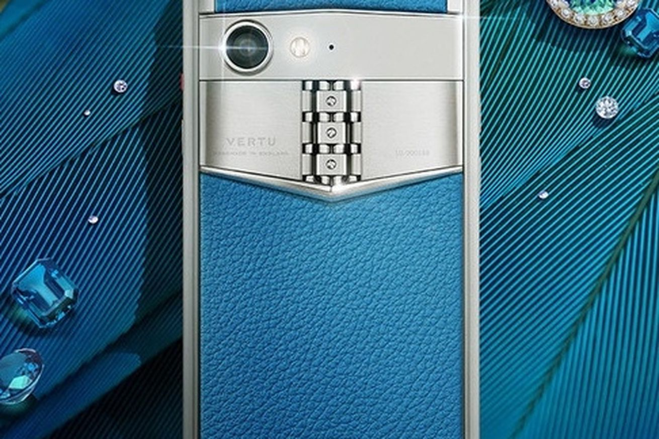 luxury manufacturer vertu returns with aster p smartphones