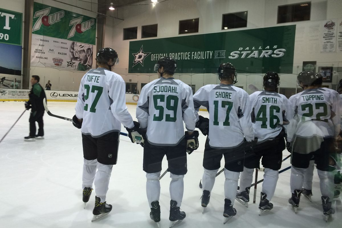 Prospects and pros: Riley Tufte, Hampus Sjödahl, Devin Shore, Gemel Smith and Jordan Topping