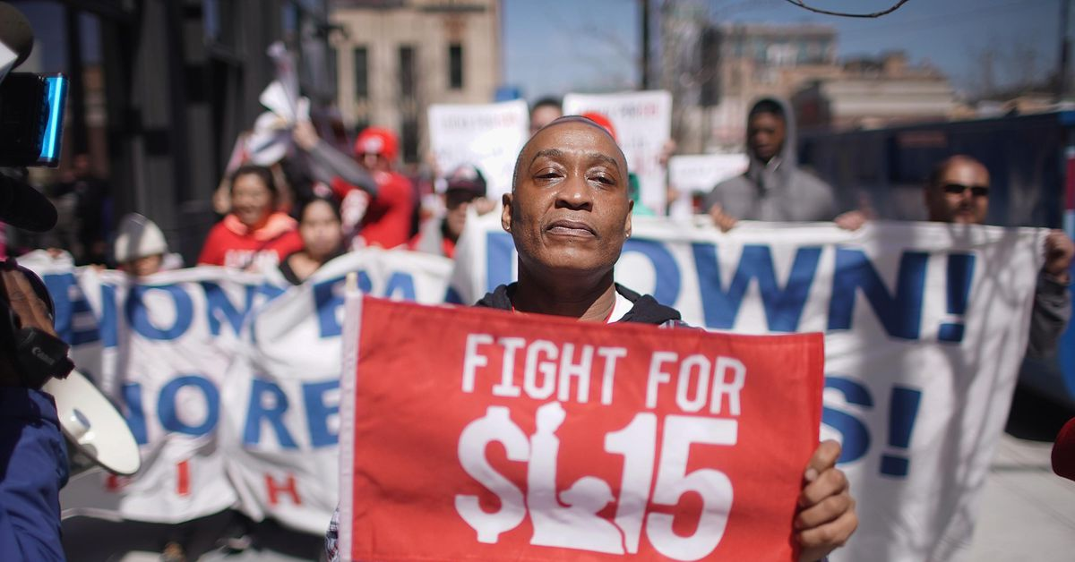 www.vox.com: Poll: 61% of likely voters support Democrats' gradual minimum wage hike