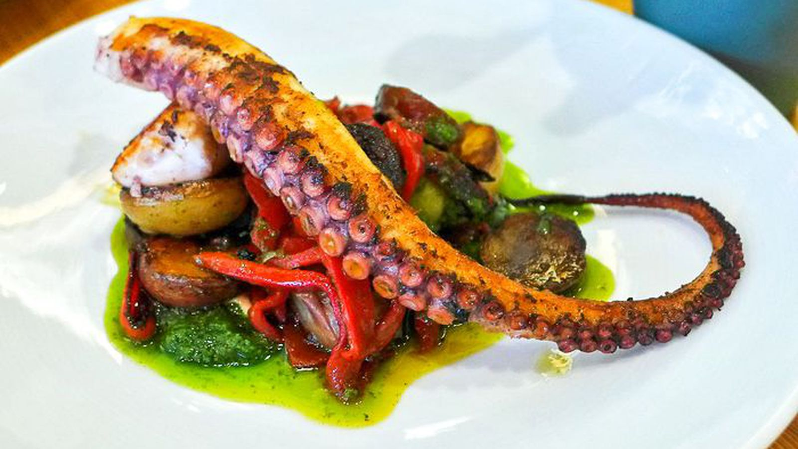 Camouflage Dishes An Octopus Lovers Guide To New York City Eater Ny