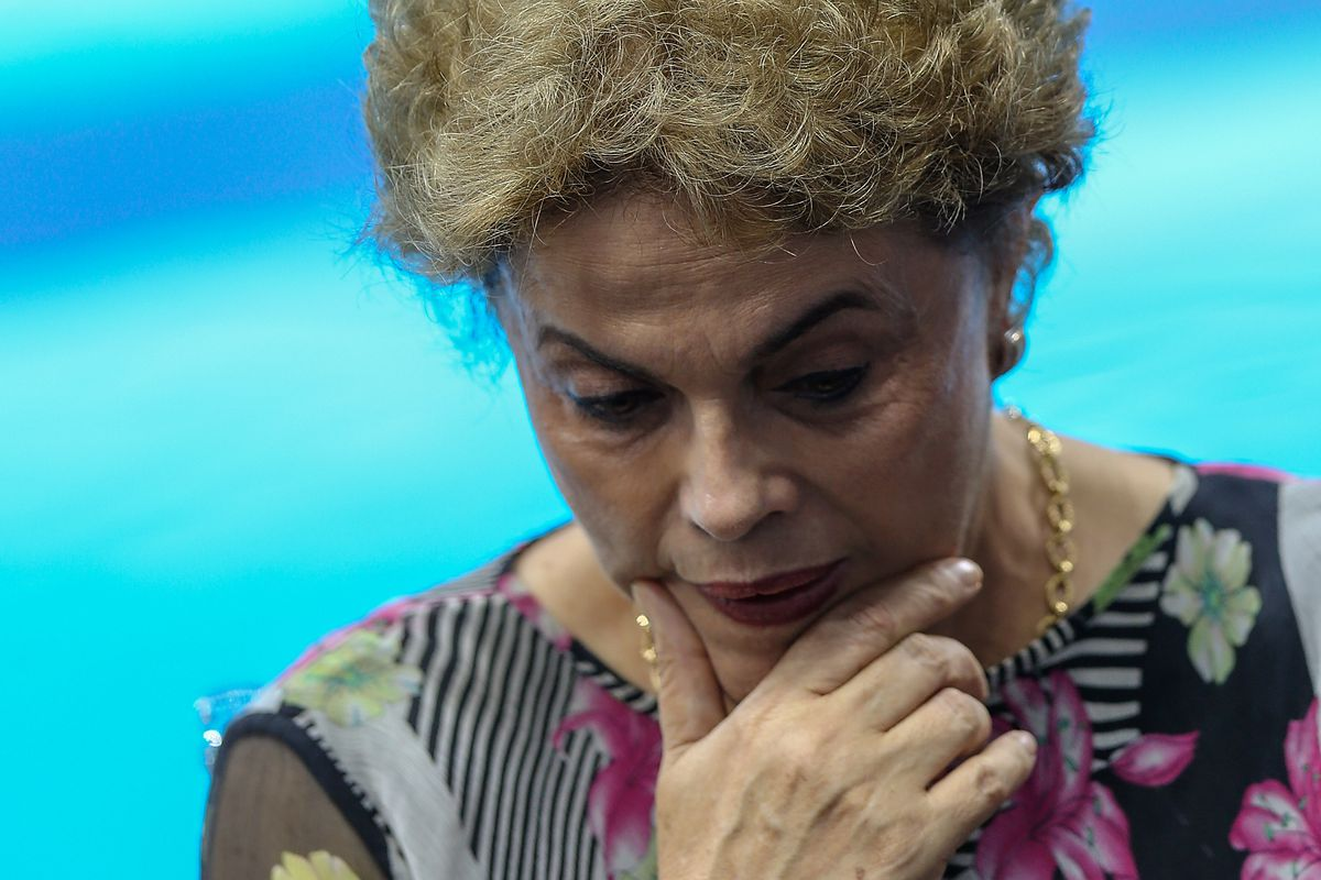 Rio 2016 Olympic Games: President Dilma Rousseff Unveils the Olympic Aquatics Stadium at the Barra Olympic Park
