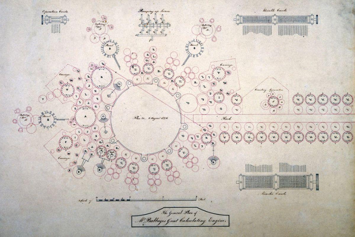 Babbage analytical engine