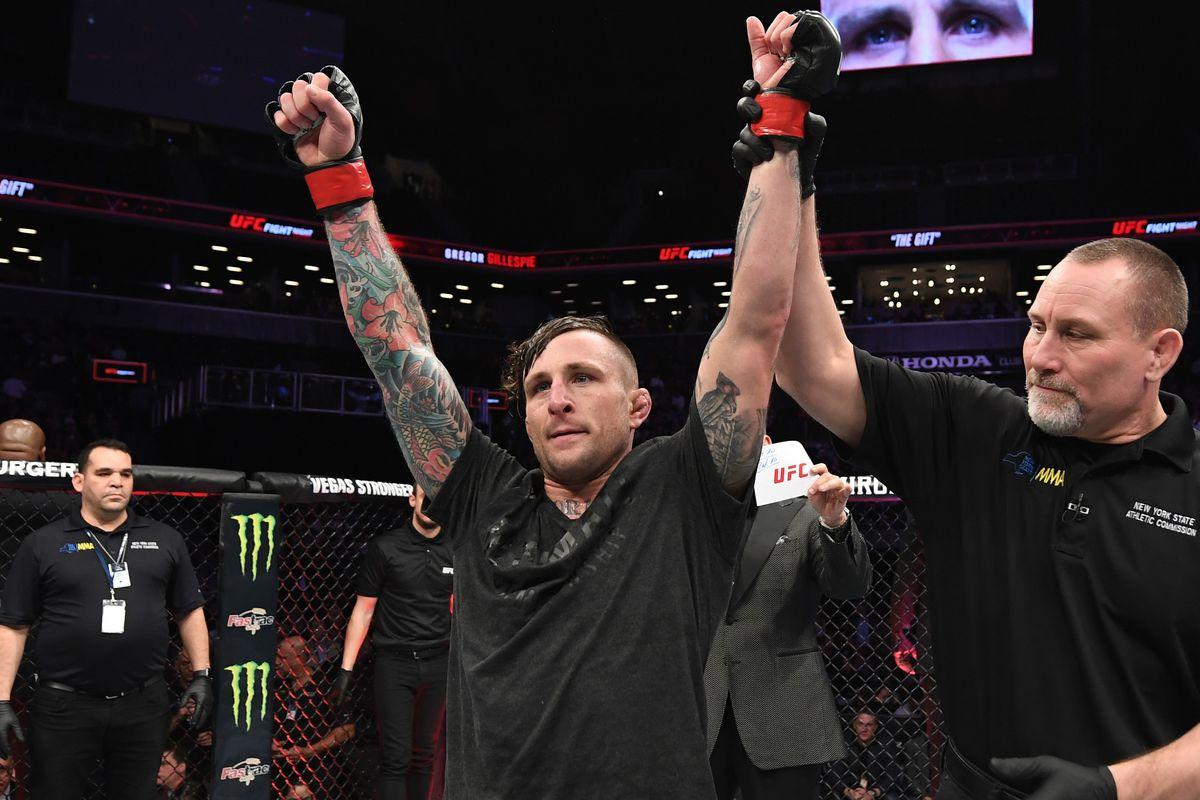 UFC Fight Night: Gillespie v Medeiros