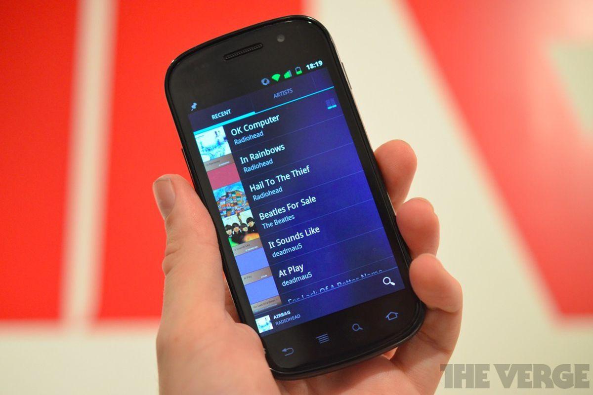 Google Music hands-on