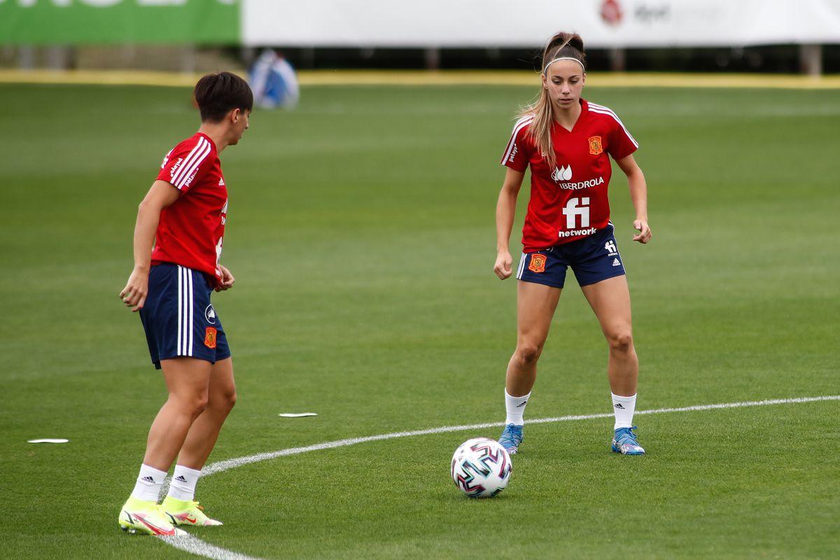 Spain Women Team Training Session