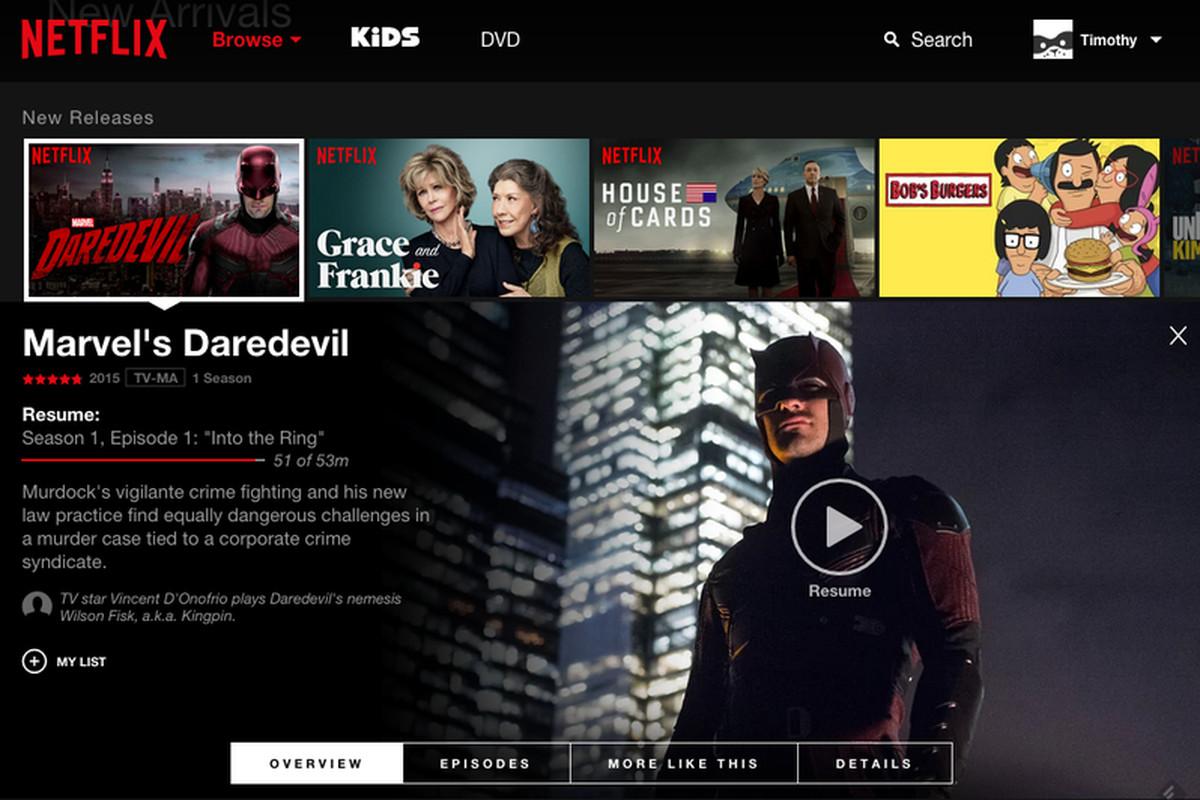 Web Netflix