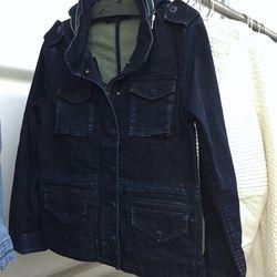 Generation Love sample denim jacket, $60