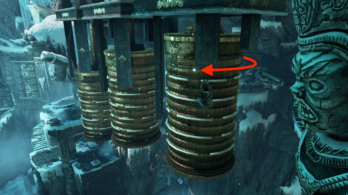 "Uncharted 2: Among Thieves ""Heart of Ice"" Treasure locations"