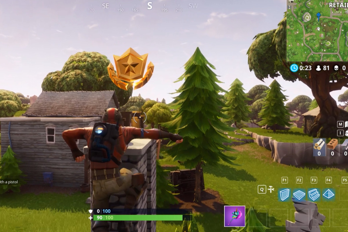Follow The Treasure Map Found In Moisty Mire Fortnite Battle Royale Having A Tough Time With This Week  Chal Ge In Season  Well Walk You Through It
