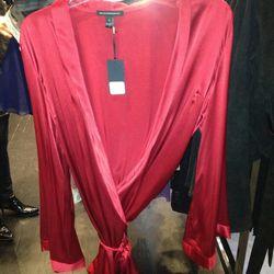 Red Silk Robe, $202.50 (Originally $675)