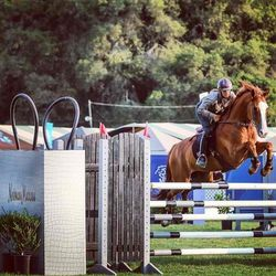 """The annual Menlo Charity Horse Show is underway at the Menlo Circus Club; photo by Erin Gilmore via Horse & Style Magazine/<a href=""""http://instagram.com/horseandstylemag"""">Instagram</a>"""