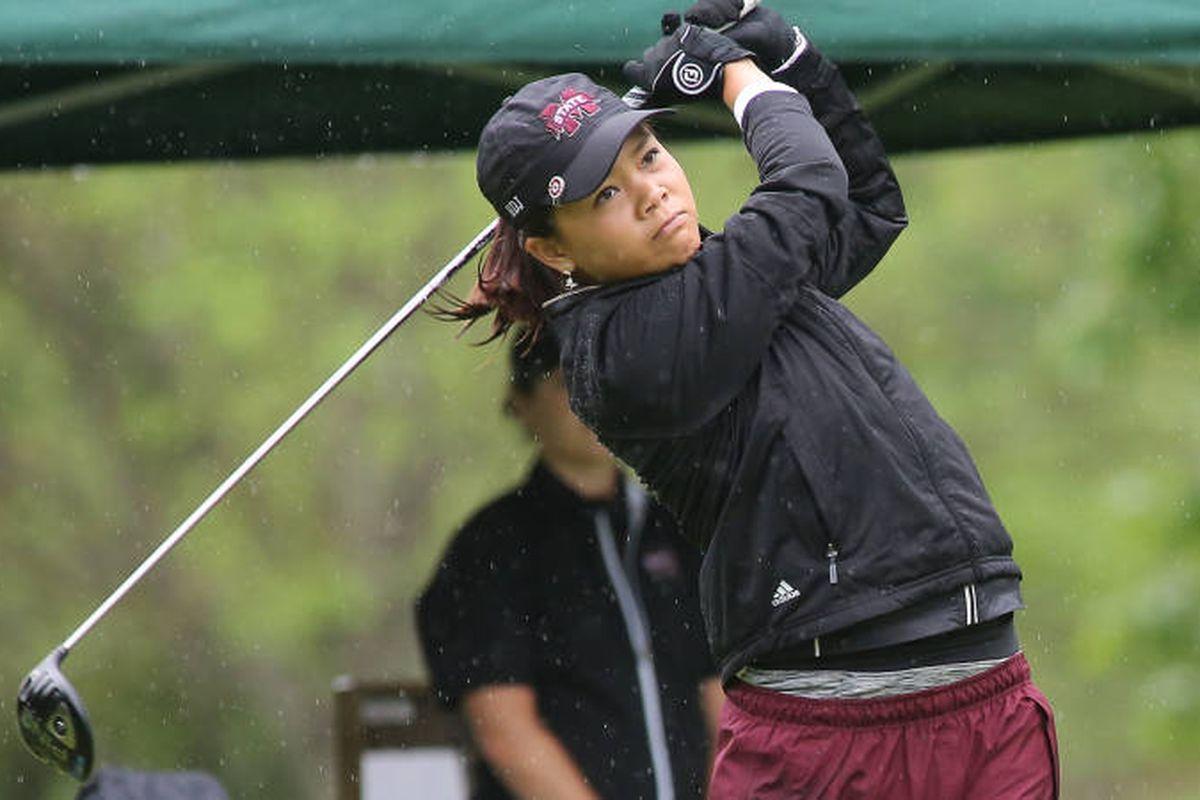 MSU golfer Jessica Peng