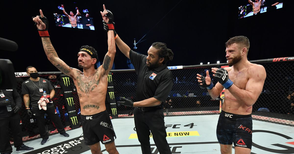 UFC Fight Island 7 results: Biggest winners loser for 'Holloway vs Kattar' – MMA Mania