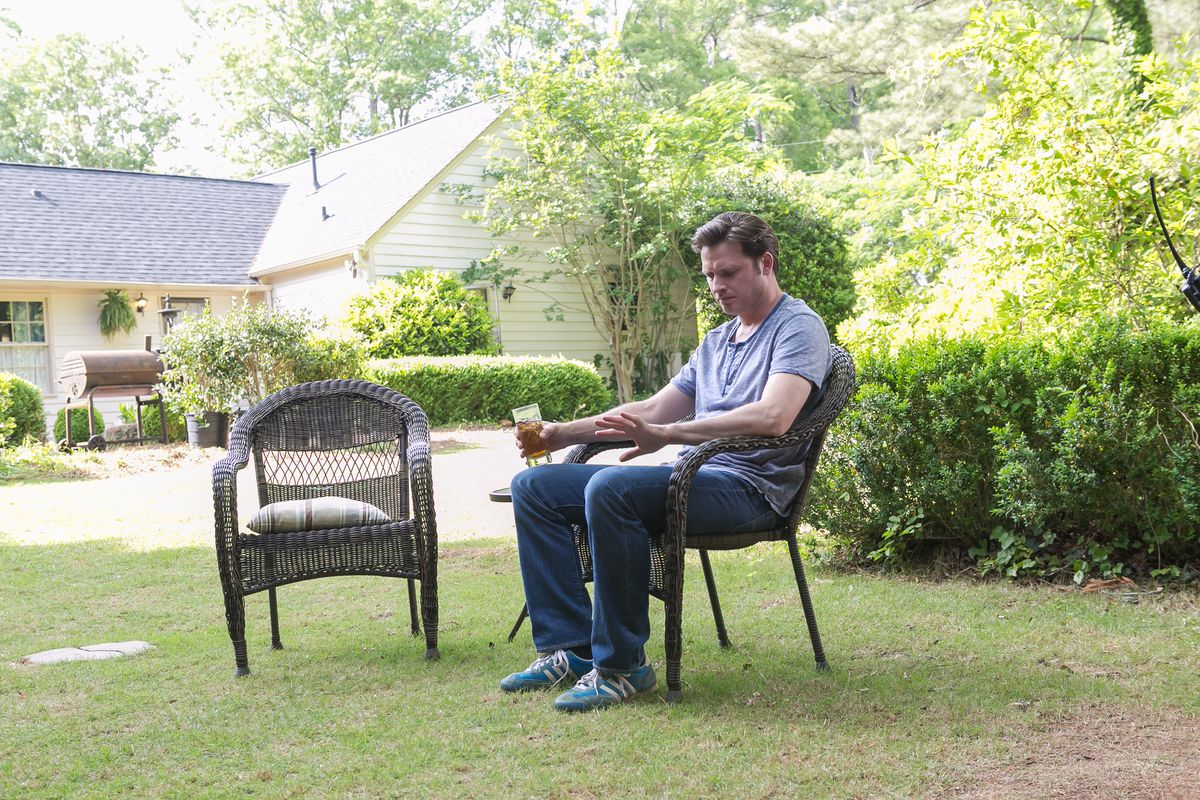 Daniel Holden (Aden Young) contemplates his future in the second season of Rectify.