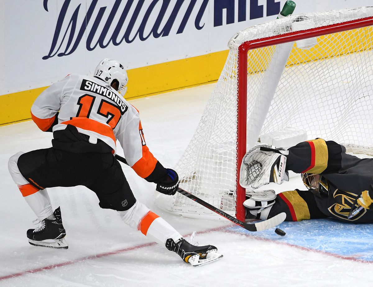 NHL: Philadelphia Flyers at Vegas Golden Knights
