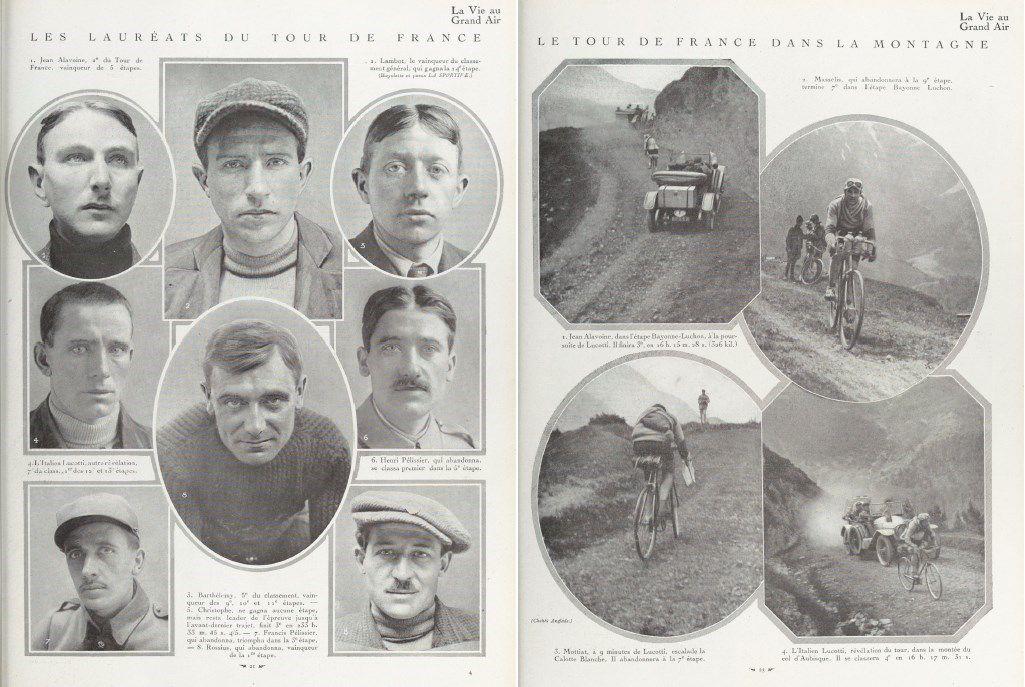 The 1919 Tour de France, as seen by readers of 'La Vie au Grand Air'