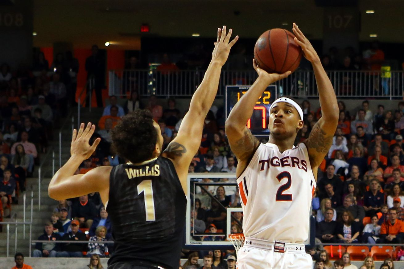 NCAA Basketball: Vanderbilt at Auburn