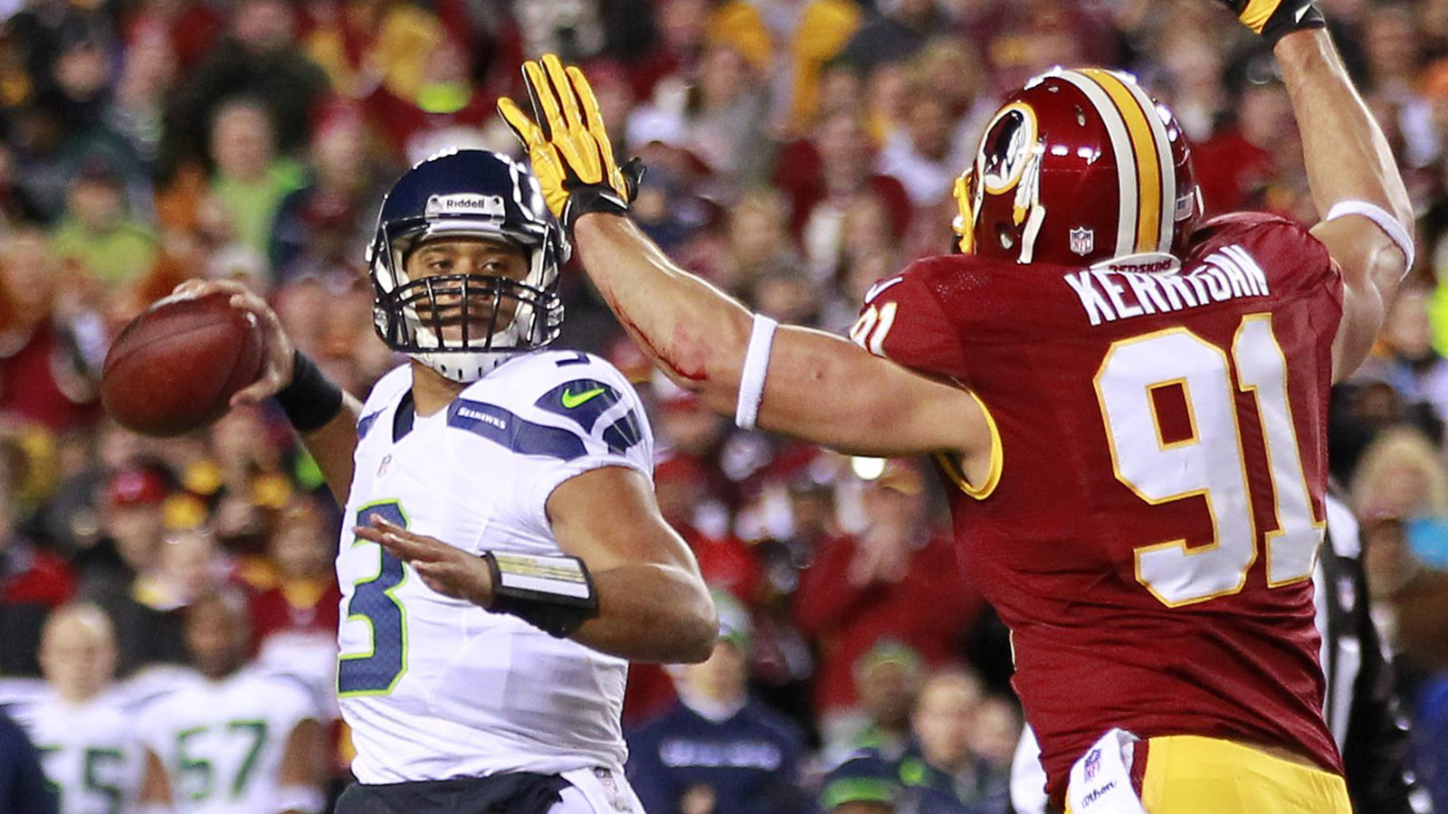 Seahawks vs. Redskins 2013, NFL Playoffs: Seattle advances ...Raiders Vs Falcons