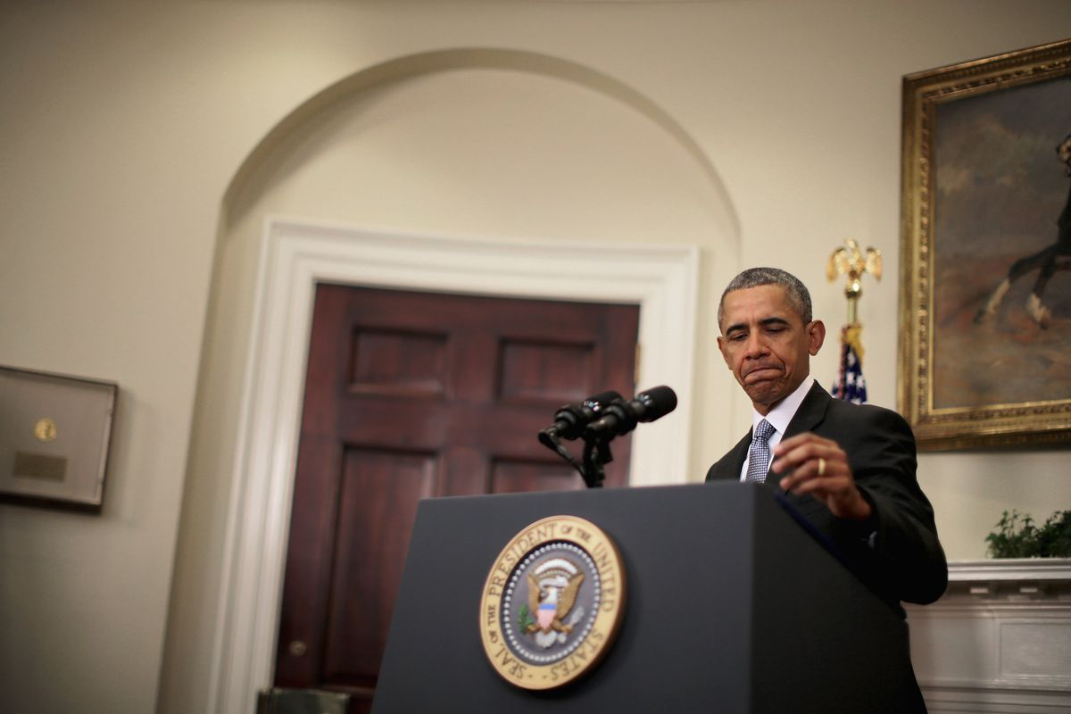 President Obama Delivers Statement On Plan To Close GITMO Detention Facility