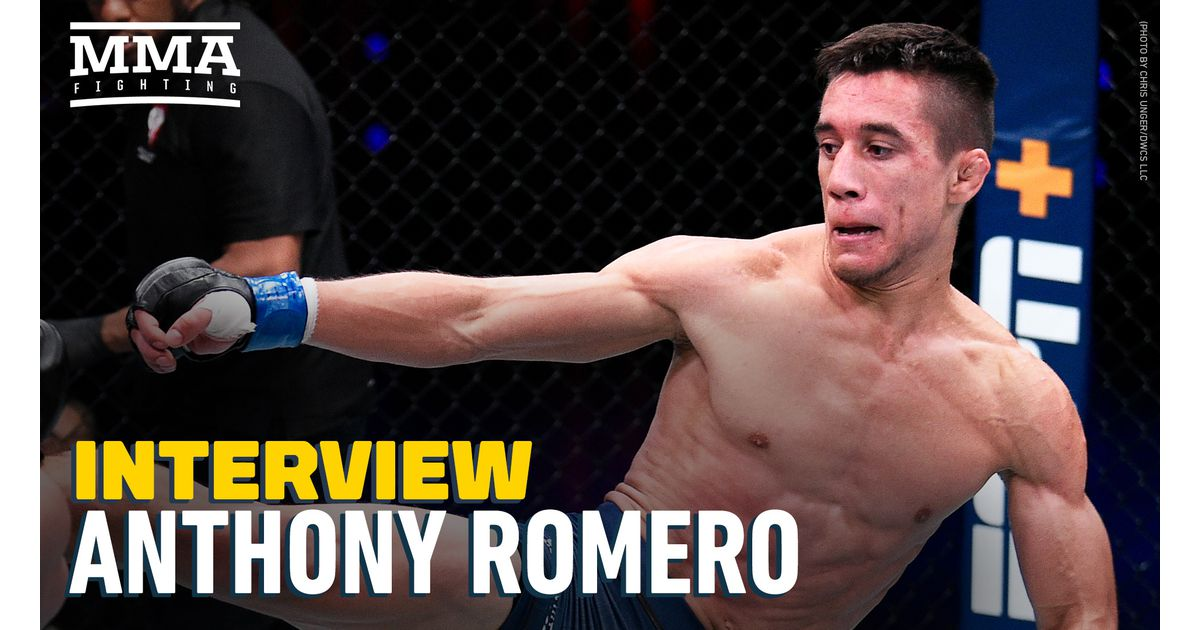 Video: Anthony Romero reacts to DWCS contract snub, Dana White's comments: 'I deserve to be in the UFC'