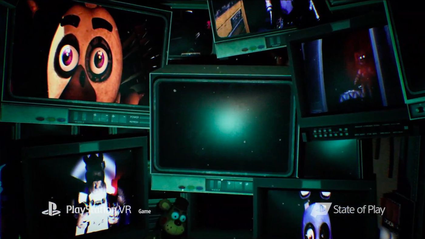 Five Nights at Freddy's announced for PlayStation VR