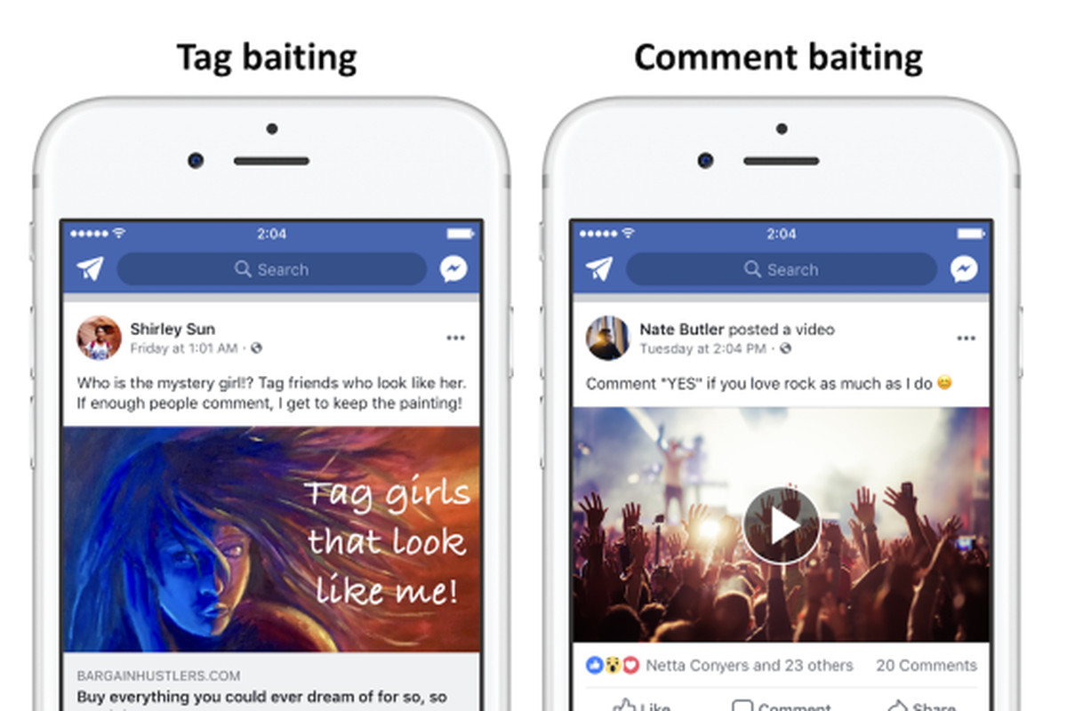 facebook will soon demote posts that beg for likes comments and