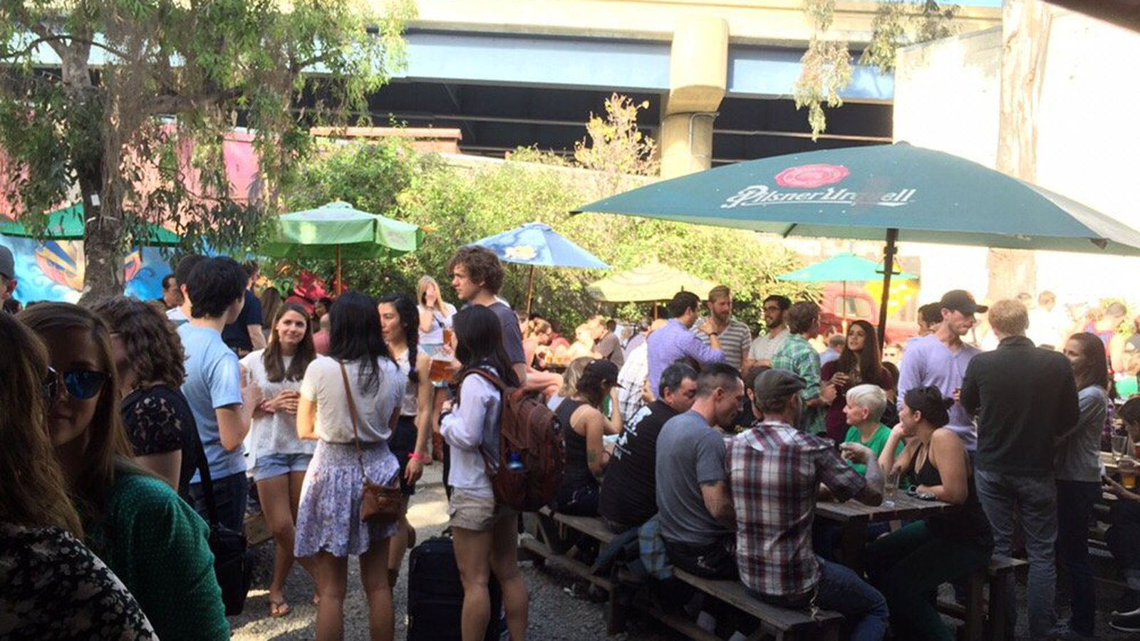 Zeitgeist Protects Its Patio, Trader Joe's Sets Opening