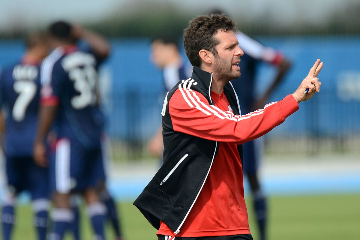 Ben Olsen goes for his second cup as a coach in 2014.