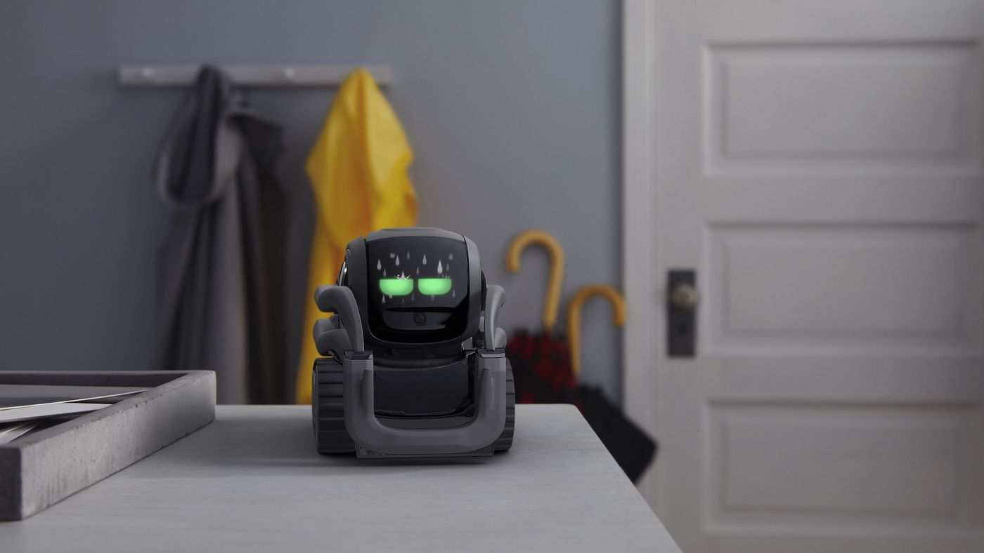The new Anki Vector robot is smart enough to just hang out - The Verge
