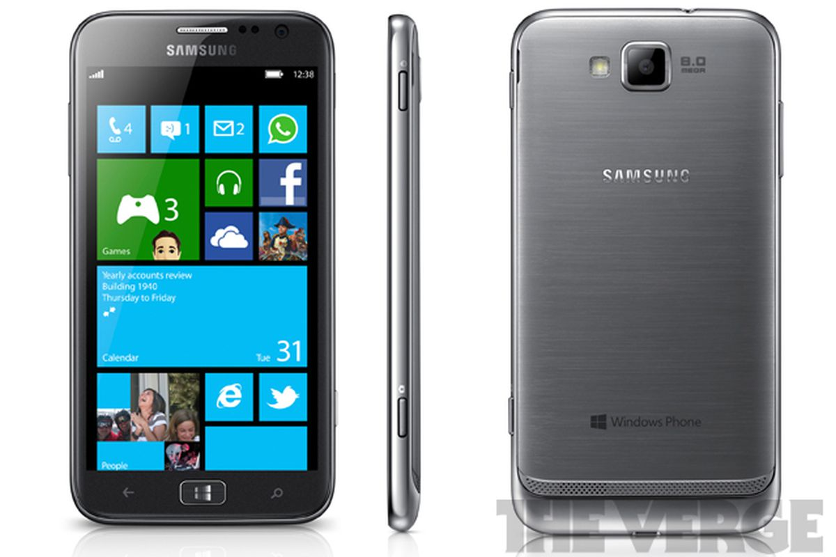 Exclusive Samsung To Launch 4 8 Inch Ativ S Windows Phone