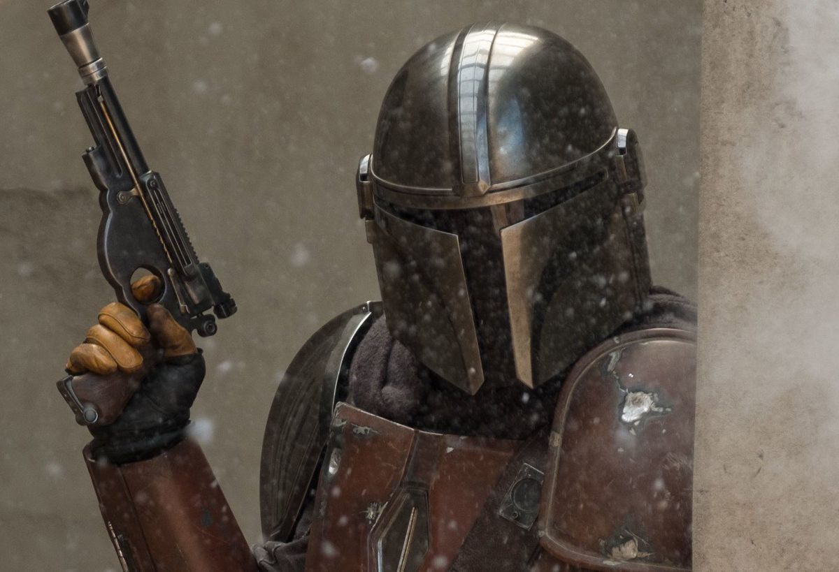 Pedro Pascal as The Mandalorian in Disney Plus' new Star Wars series
