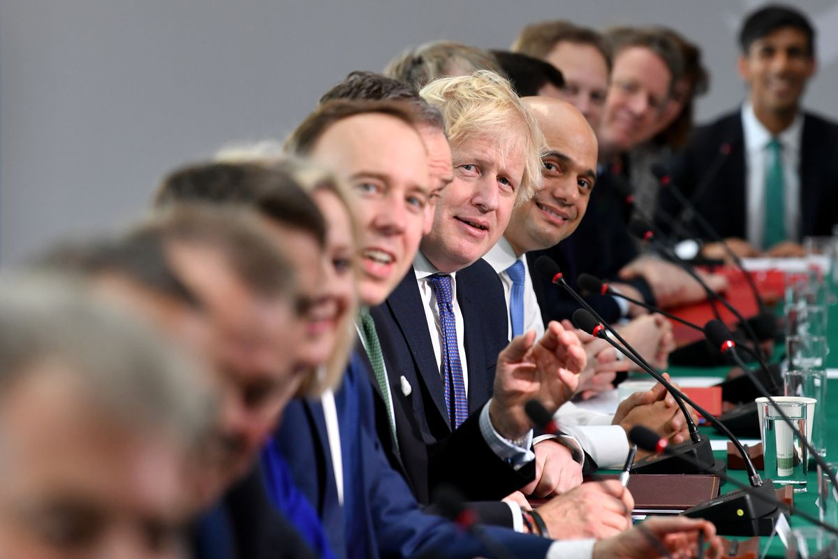 The Prime Minister Holds Cabinet Meeting In The North East On Brexit Day