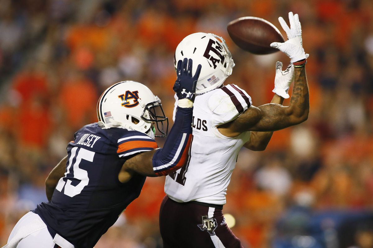 NCAA Football: Texas A&M at Auburn