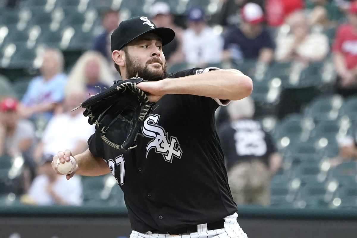 """""""I've got no issues with my stuff. I'll make that very clear,"""" White Sox starter Lucas Giolito aid. """"I had a lot of swings and misses."""""""