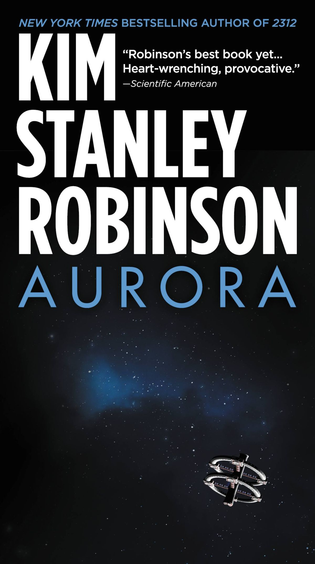 Aurora by Kim Stanley Robinson cover
