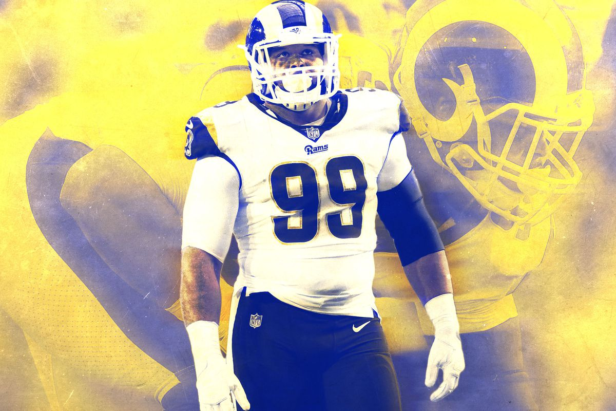 new product d689c a1d2d Aaron Donald Destroyed the Seahawks' Offense in the Rams' 42 ...