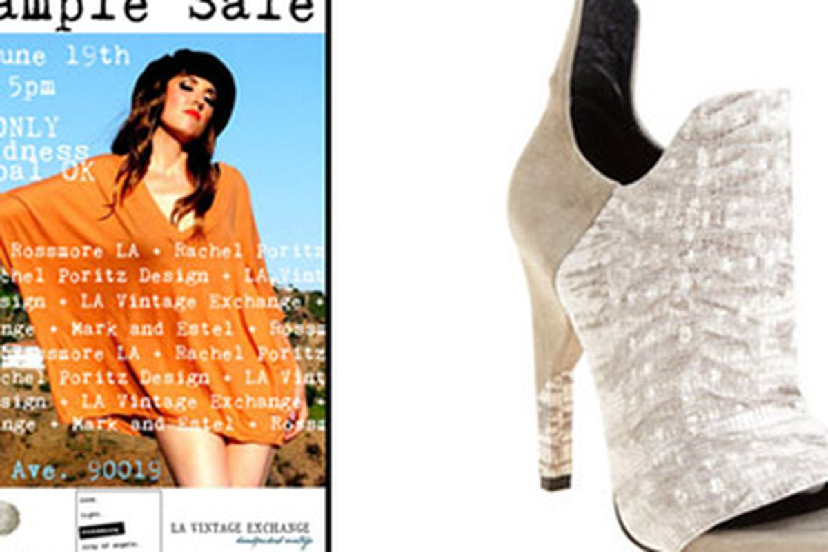 Need an idea for splurging? How about a sample sale? Or an amazing pair of shoes from Alexander Wang (which would totally be our choice)?