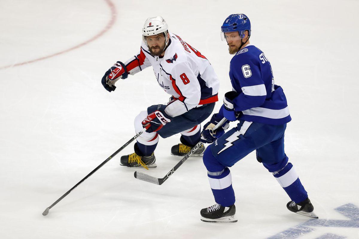 Washington Capitals v Tampa Bay Lightning - Game Two