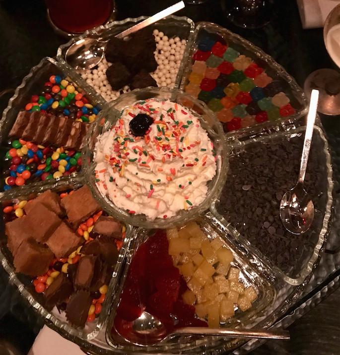 The Office's ice cream sundae
