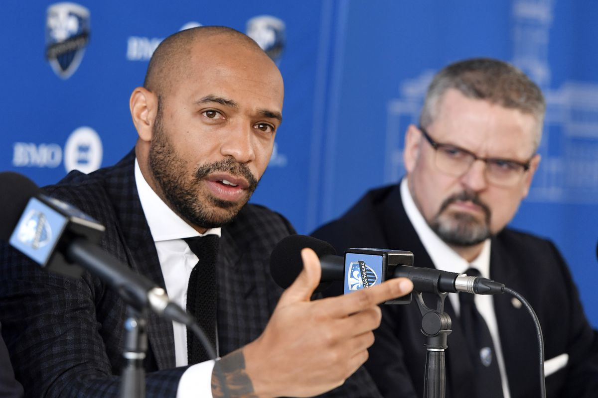 MLS: Montreal Impact-Coach Thierry Henry Press Conference
