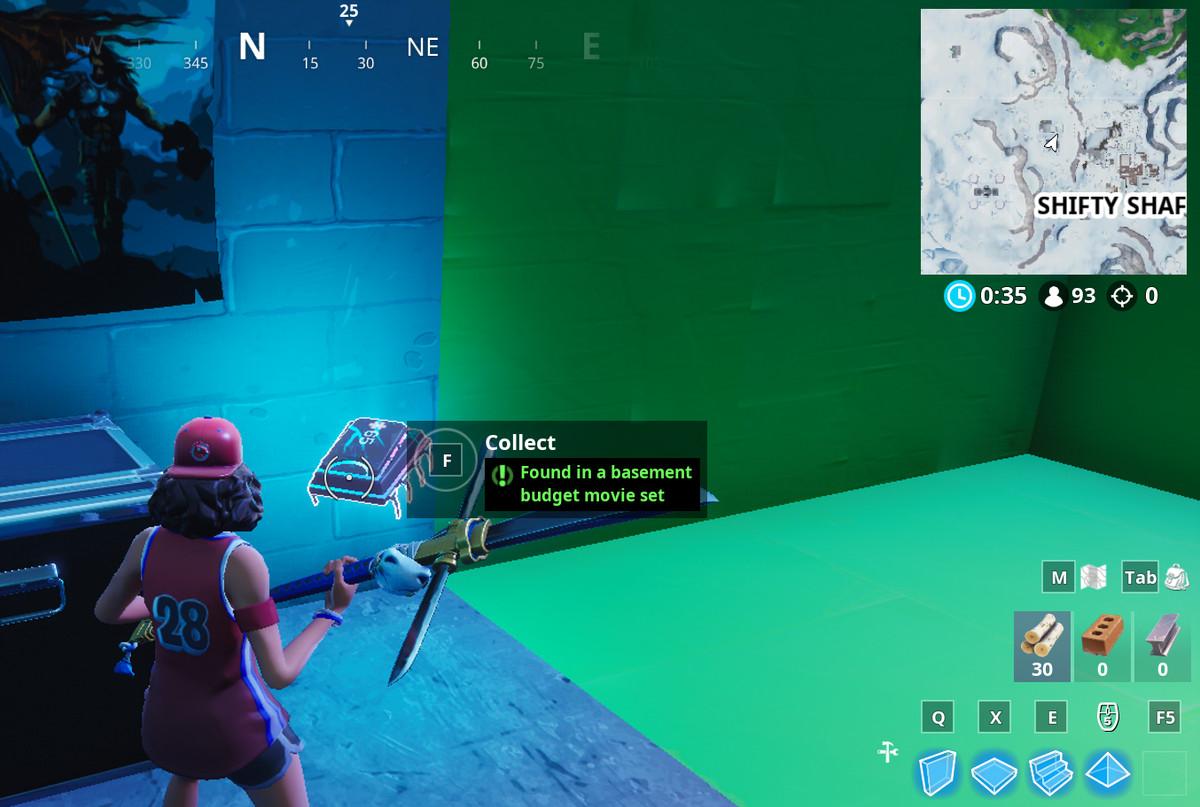 Fortbyte 65 hidden location