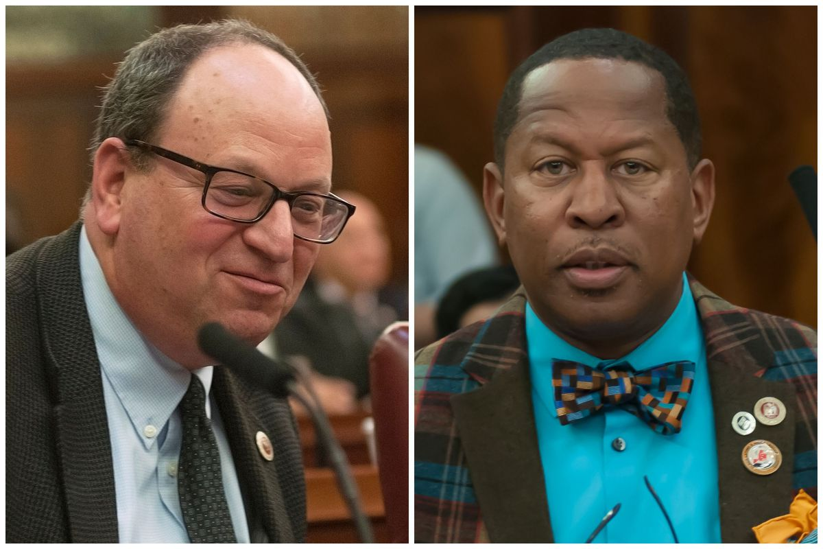 Barry Grodenchik and Andy King