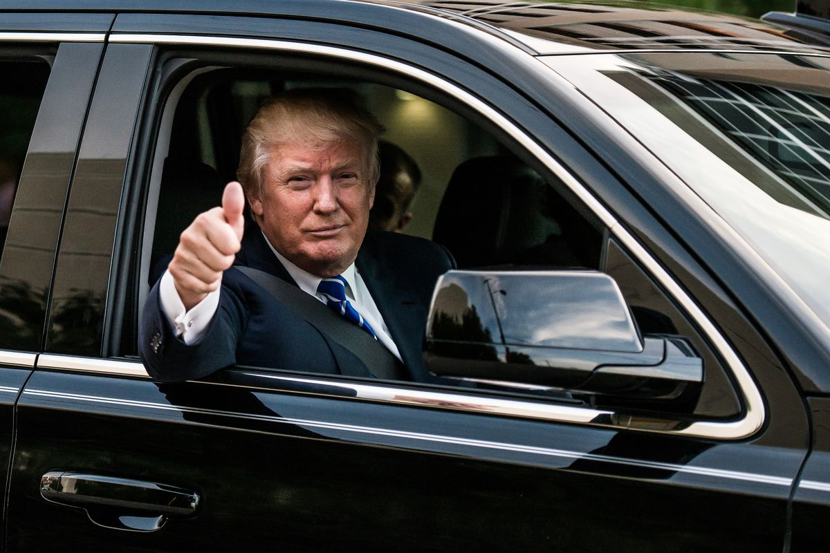 Trump's tax plan: good for people who can afford personal drivers.
