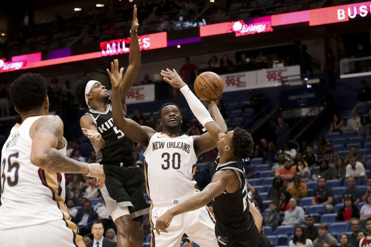 NBA: Sacramento Kings at New Orleans Pelicans