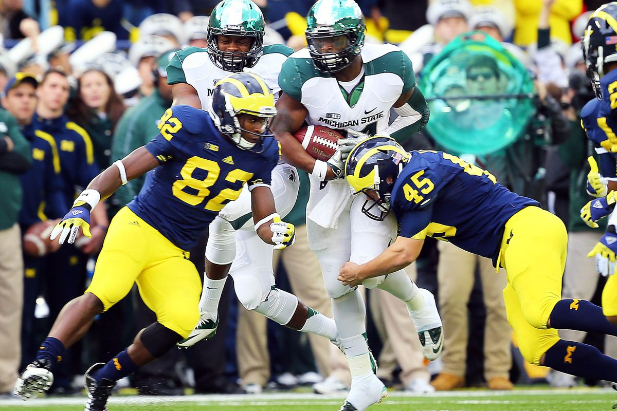Michigan State Vs Michigan 2012 Results Wolverines Finally End