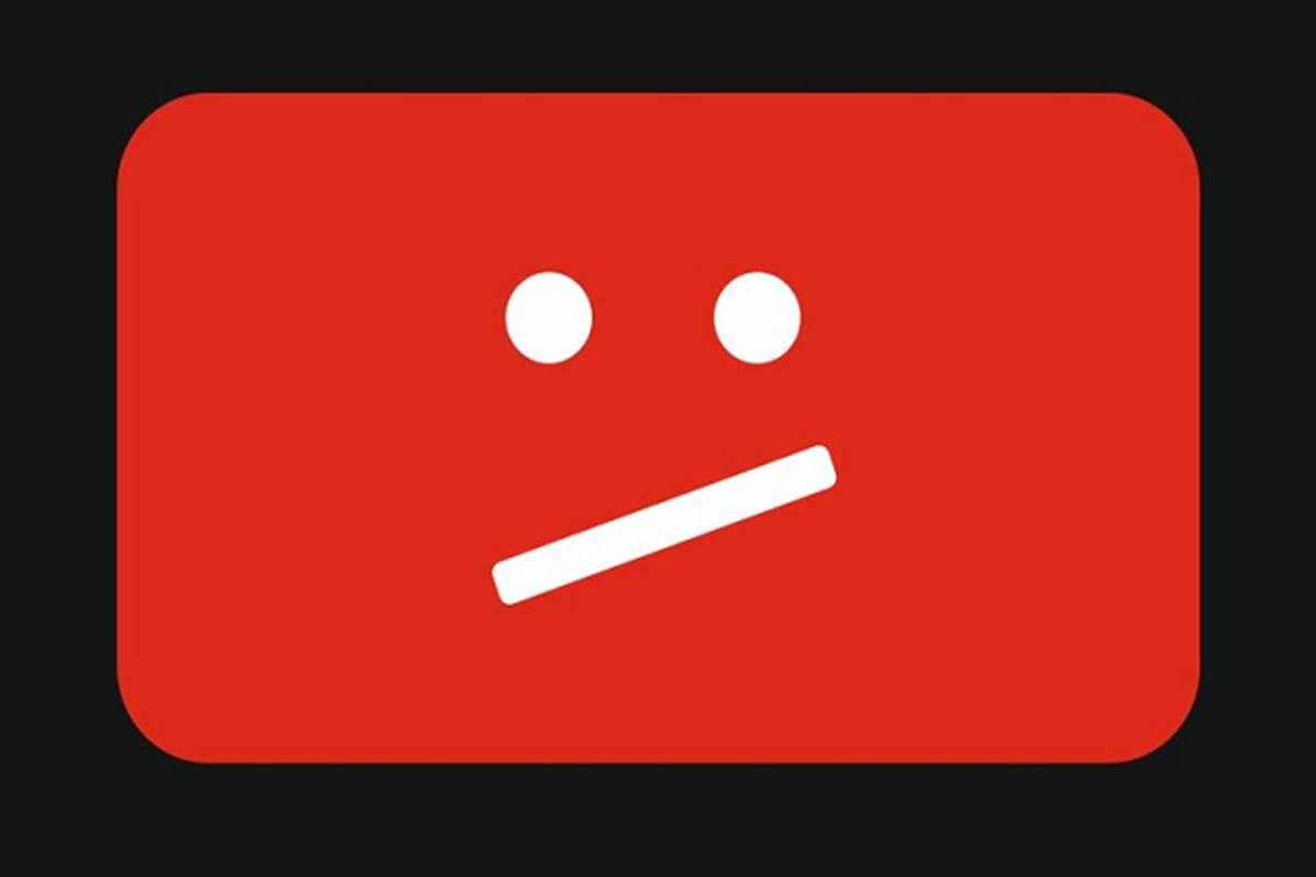 YouTube sad face