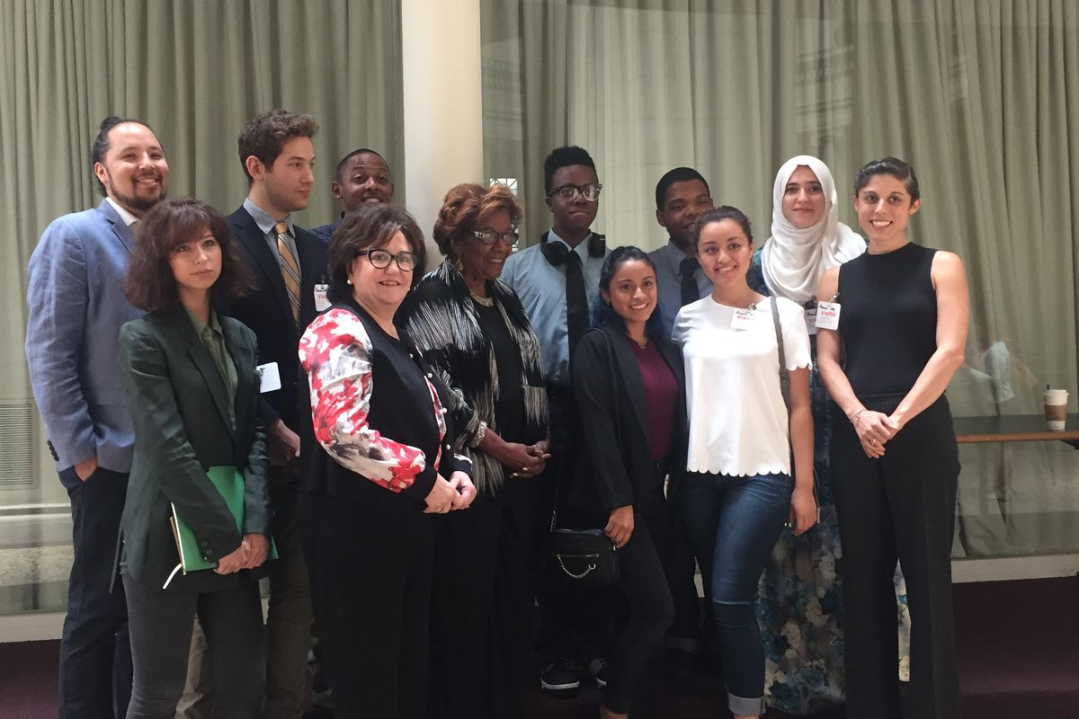 Students discussed attending racially isolated schools at the Board of Regents meeting.