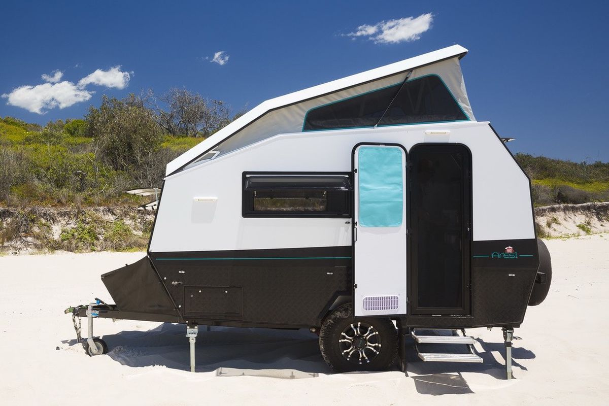Go Anywhere Camper Pops Up For More Space Curbed
